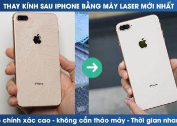 Thay Mặt Kính Sau iPhone Kính Lưng iPhone
